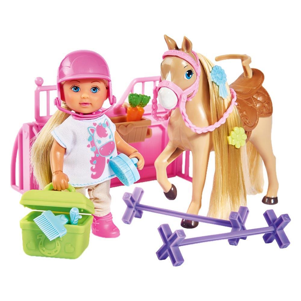 Кукольный набор Steffi & Evi Love Эви Холидей Конюшня (5733274)