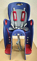 Дитяче велосипедне крісло TILLY Maxi T-831/1, 3-х точкові ремені, регулювання висоти підставки ніг, 12-22 кг