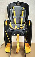 Дитяче велосипедне крісло TILLY Maxi T-831/1 Чорно-жовтий