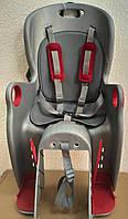 Дитяче велосипедне крісло TILLY Maxi T-831/1 Сіро-червоний