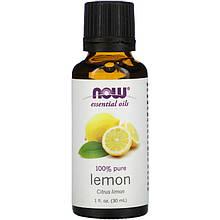 """Эфирное масло лимона NOW Foods, Essential Oils """"Lemon"""" (30 мл)"""