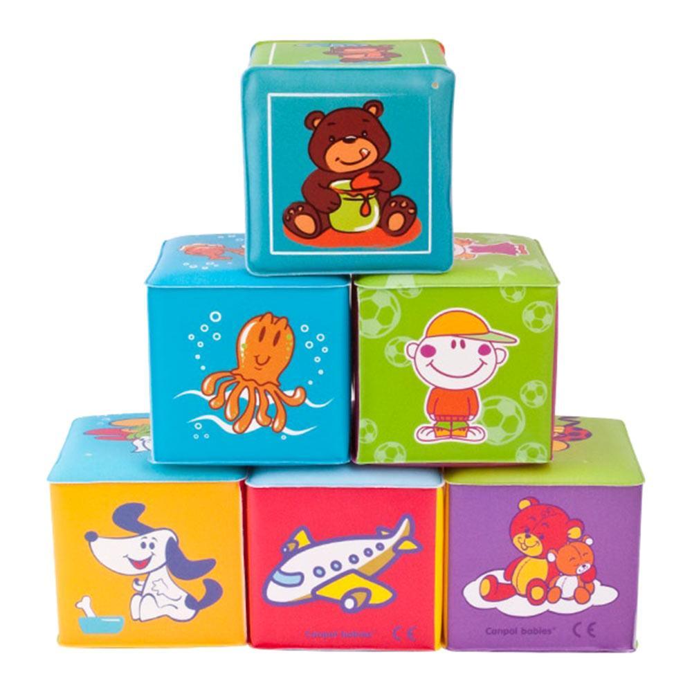 Развивающая игрушка 6 мягких кубиков Canpol (2/817)