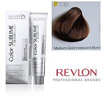 Профессиональная краска для волос REVLONISSIMO COLOR SUBLIME, 7.32