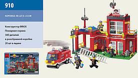 """Конструктор """"Brick Брик - Пожарная охрана"""", 364 дет., в кор."""