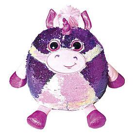 Мягкая игрушка Fancy Единорог Кэлвин с пайетками 28 см (POG01)