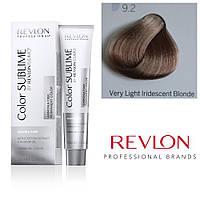 Профессиональная краска для волос REVLONISSIMO COLOR SUBLIME, 9.2