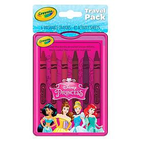 Набор для путешествий Crayola Принцессы (04-0438)