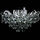 Хрустальная люстра СветМира на 6 лампочек со встроенной LED подсветкой рожков VL-2878/6+12 LED, фото 2