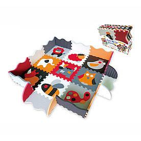 Детский коврик-пазл Baby Great Веселый зоопарк (5002024)