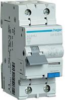 Дифференциальный автоматический выключатель 1+N, 16A, 30 mA, B, 6 КА, A, AD916J