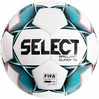Мяч футбольный SELECT Brillant Super FIFA TB (043) бел/зеленый размер 5