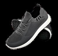 Мужские серые кроссовки в стиле Adidas