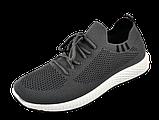 Мужские серые кроссовки в стиле Adidas, фото 6