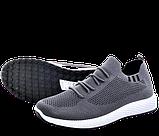 Мужские серые кроссовки в стиле Adidas, фото 3
