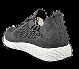 Мужские серые кроссовки в стиле Adidas, фото 8