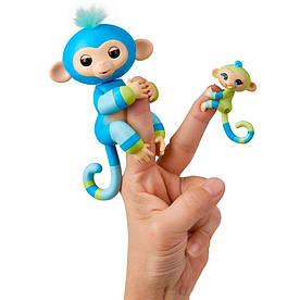 Интерактивная игрушка Fingerlings Обезьянка Билли с малышом 12 см (W3540/3541)