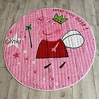 Коврик-мешок для игрушек Пеппа (розовый) - 150 см