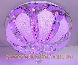 Люстра торт на 4 лампочки с LED подсветкой
