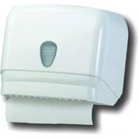 601 Универсальный держатель полотенец пластик белый