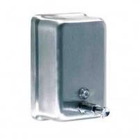 DJ0111CS Дозатор жидкого мыла нержавейка матовый 1,2 л