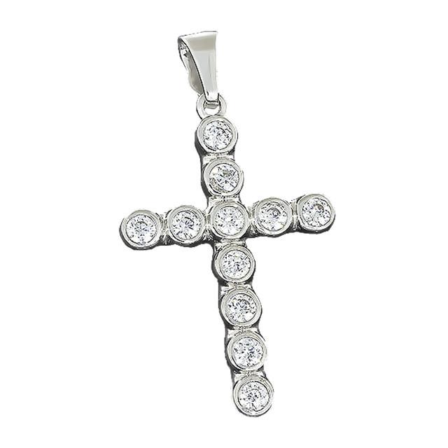 Крест 029 Rhodium
