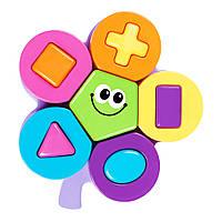 Развивающая игрушка Bebelino Пазл цветок (58144)