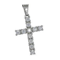 Хрест 027 Rhodium
