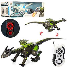 Динозавр 28303 (4шт) р/у,72см, муз, зв, св,ходит,двиг.головой,хвост,2цв, на бат,в кор-ке,74-22-22см