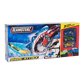 Автотрек Teamsterz Атака акулы с машинками (1416435)