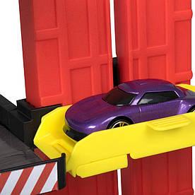 Автотрек Teamsterz Многоуровневая парковка с машинкой (1416652)