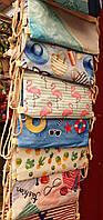 Пляжные сумки-рюкзачки на затяжках оптом (6 цветов)30*46см