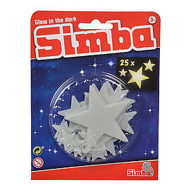 Набор наклеек Simba Сияющие звезды 25 шт (7822342)