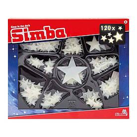 Набор наклеек Simba Сияющие звезды 120 шт (7822344)