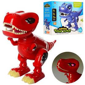Динозавр 803 26см,ходит,звук,свет,подвижн.челюсть и хвост