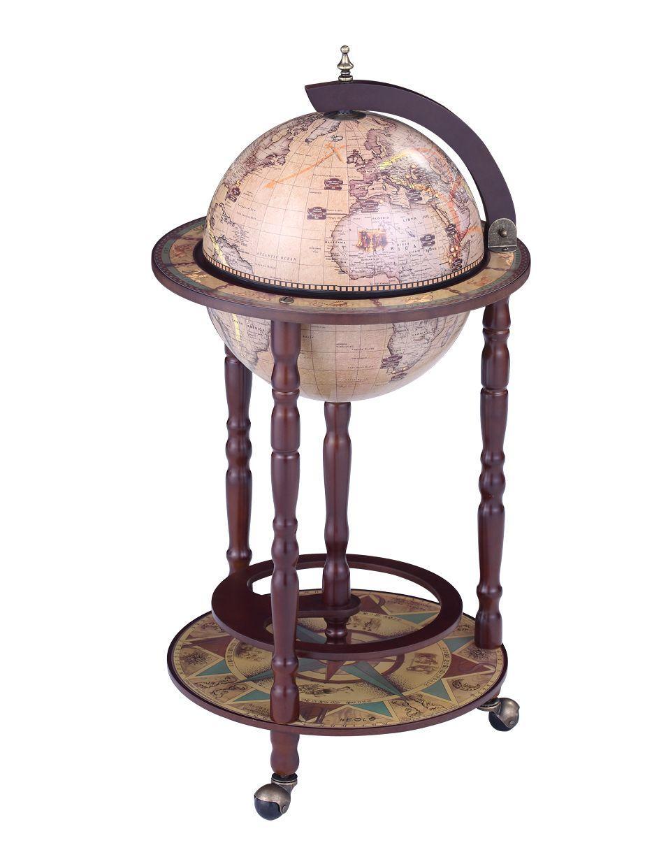Красивий підлоговий глобус-бар