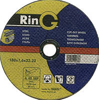 Отрезной абразивный диск  для металла Ring 180 х 2,0 х 22