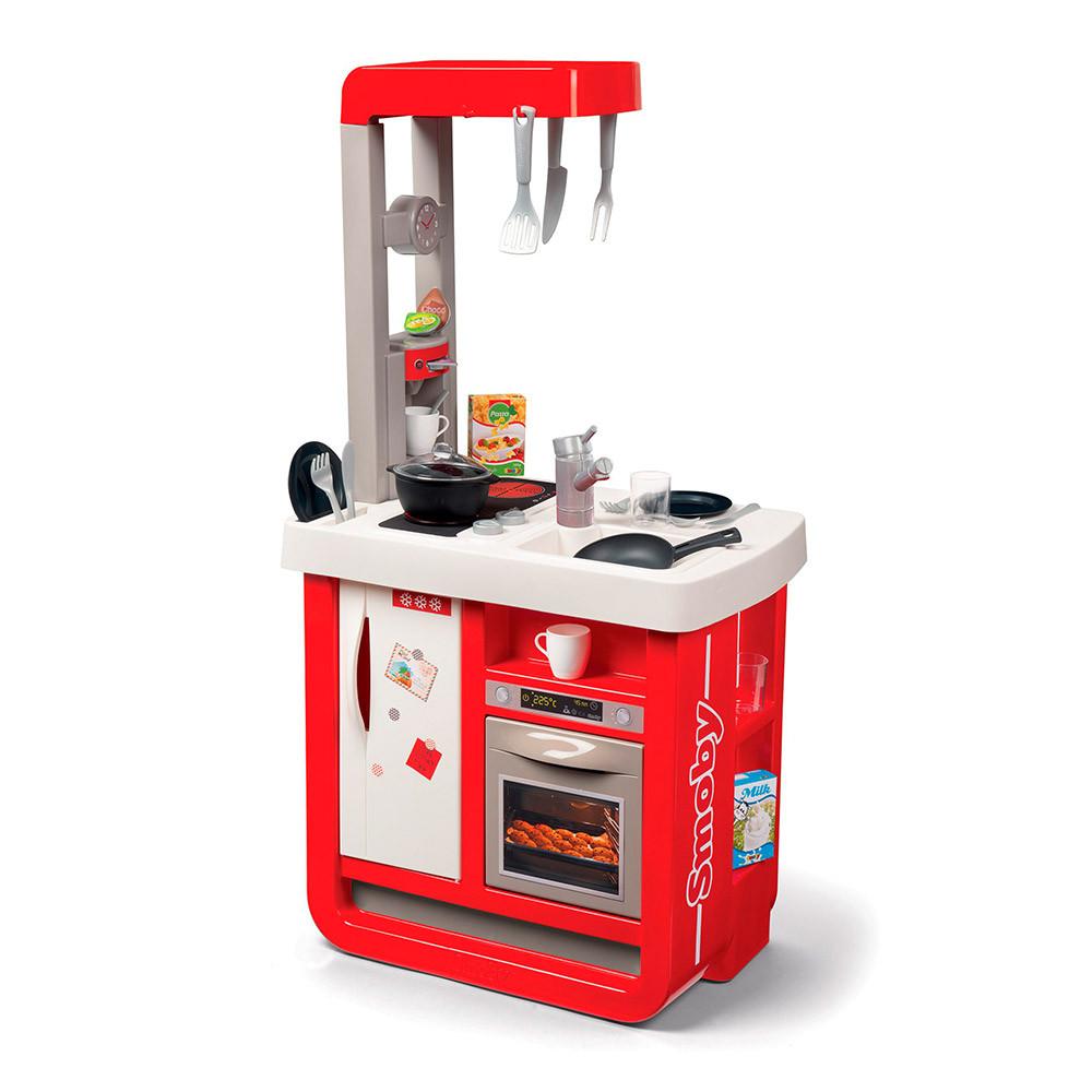 Интерактивная кухня Smoby Бон Аппетит красная (310819)