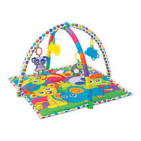 Развивающий коврик Playgro Друзья животные (0185477)