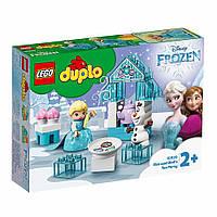 Конструктор LEGO Лего Duplo Чаепитие у Эльзы и Олафа (10920)