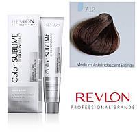 Профессиональная краска для волос REVLONISSIMO COLOR SUBLIME, 7.12