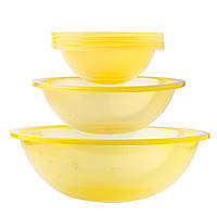 Набор салатников Sagad 30 см 21 см 16 см Желтый SA. 181 YELLOW, КОД: 1705557