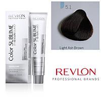 Профессиональная краска для волос REVLONISSIMO COLOR SUBLIME, 5.1