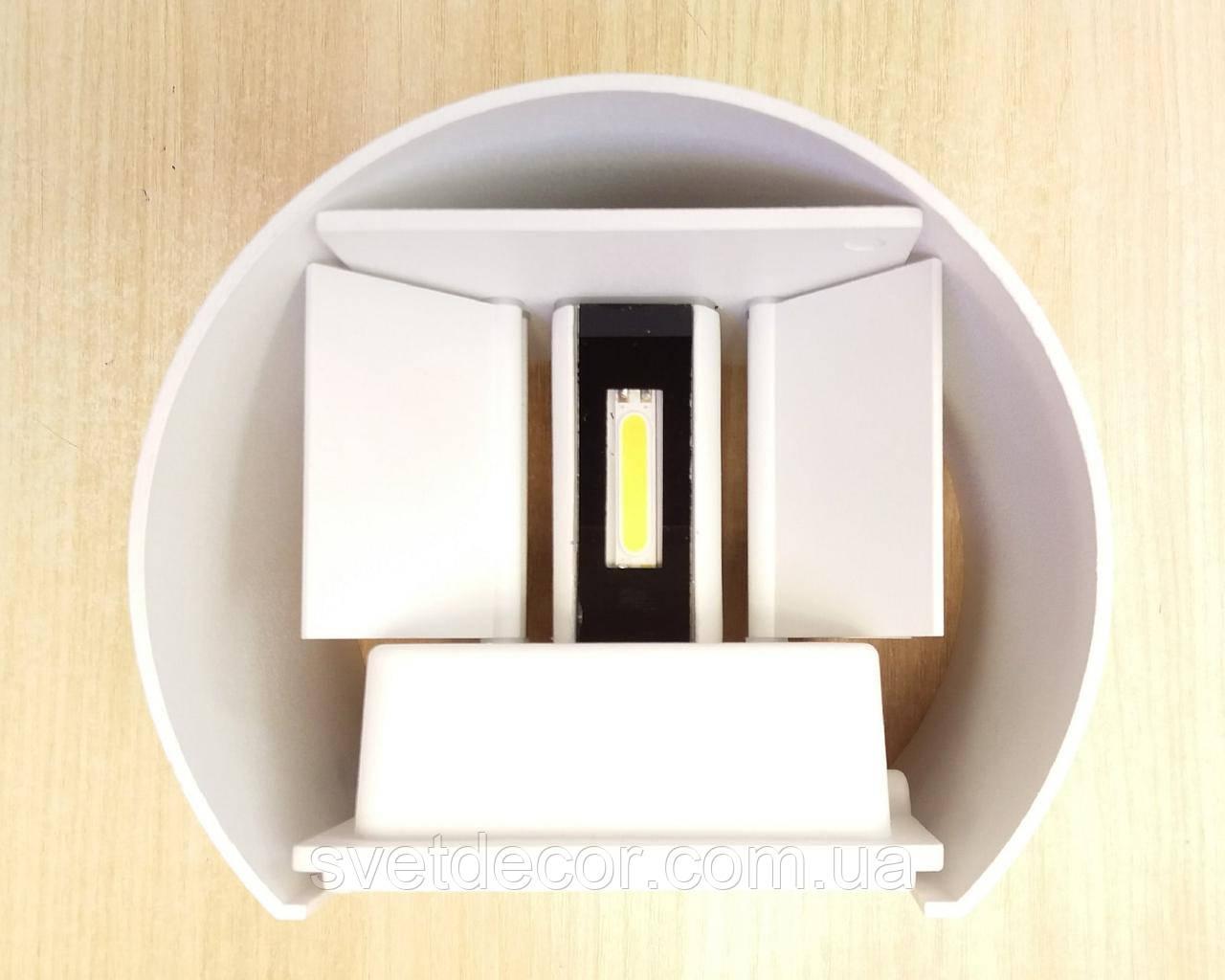 Архітектурний Світильник Feron DH013 LED 2*3W 4000K Настінний Білий