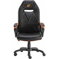 Геймерское кресло GT Racer X-2318 Black/Orange, фото 1