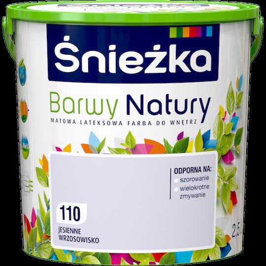 Краска латексная Sniezka Barwy Natury 110Т ОСЕННЕЕ ВАСИЛЬКОВОЕ ПОЛЕ 2.5 л