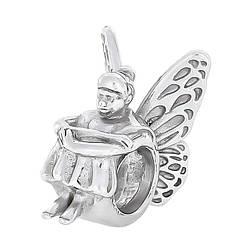Шарм Fairy 028 Rhodium