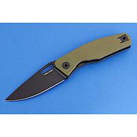 Складной нож TERRA OLIVE GREEN оригинальный, простой и практичен в использовании