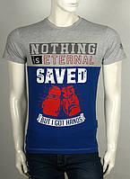 Прикольная и оригинальная  мужская футболка с надписью