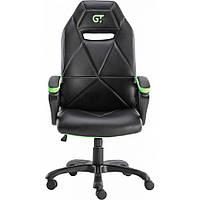 Геймерское кресло GT Racer X-2318 Black/Apple Green, фото 1