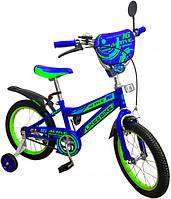 """Двухколесный велосипед Like2bike 16"""" 191625 Active Синий"""